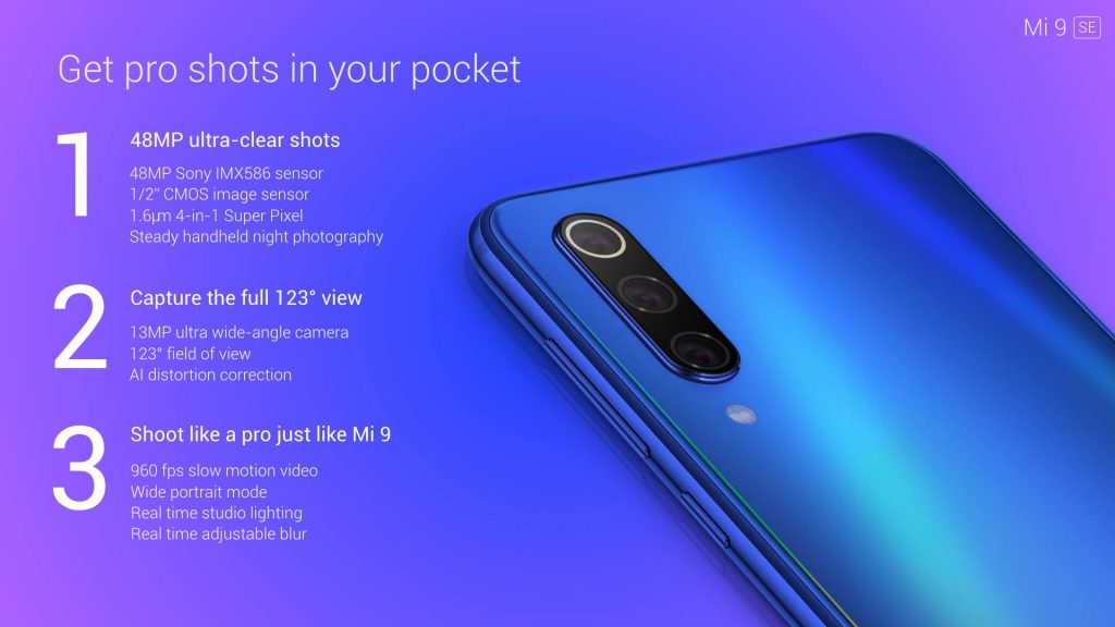 Xiaomi Launches the Mi 9 SE with prices starting from RM1,299 7
