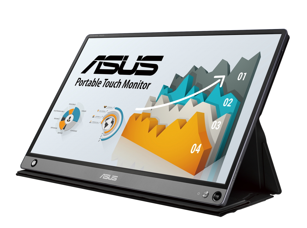 ASUS ZenScreen Touch Expands Screen with Comprehensive Connectivity 4