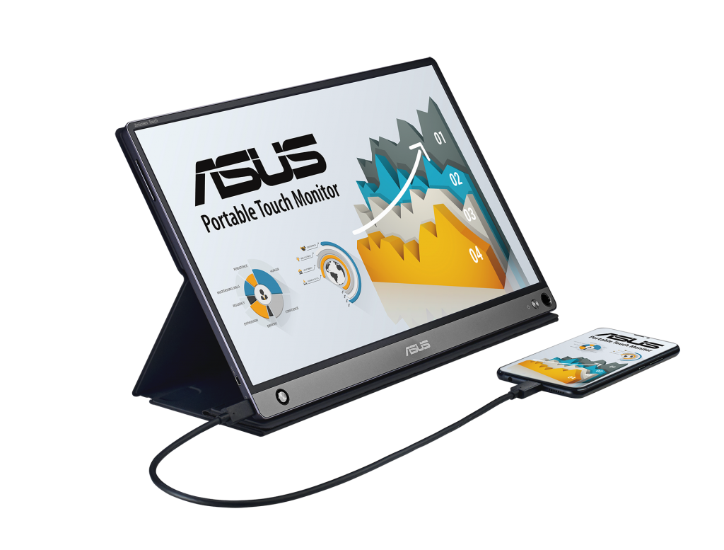 ASUS ZenScreen Touch Expands Screen with Comprehensive Connectivity 5