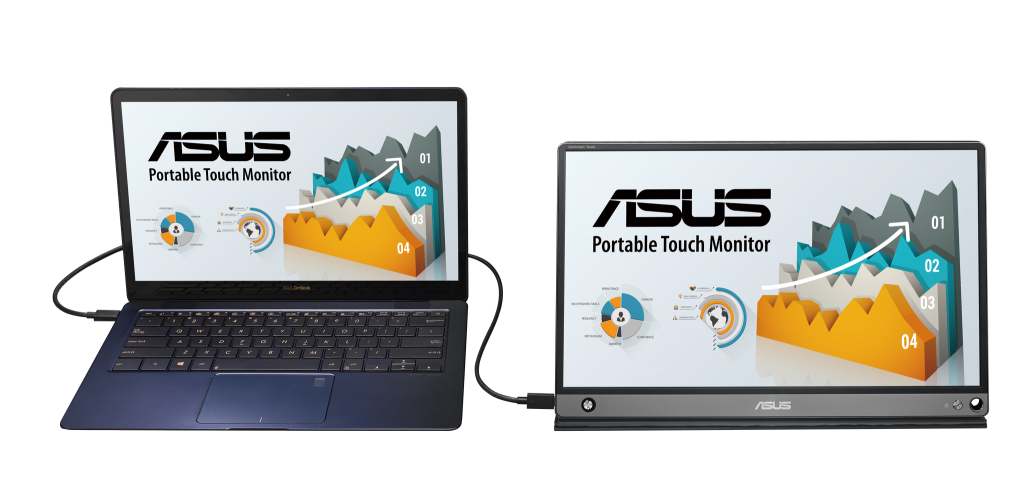 ASUS ZenScreen Touch Expands Screen with Comprehensive Connectivity 6