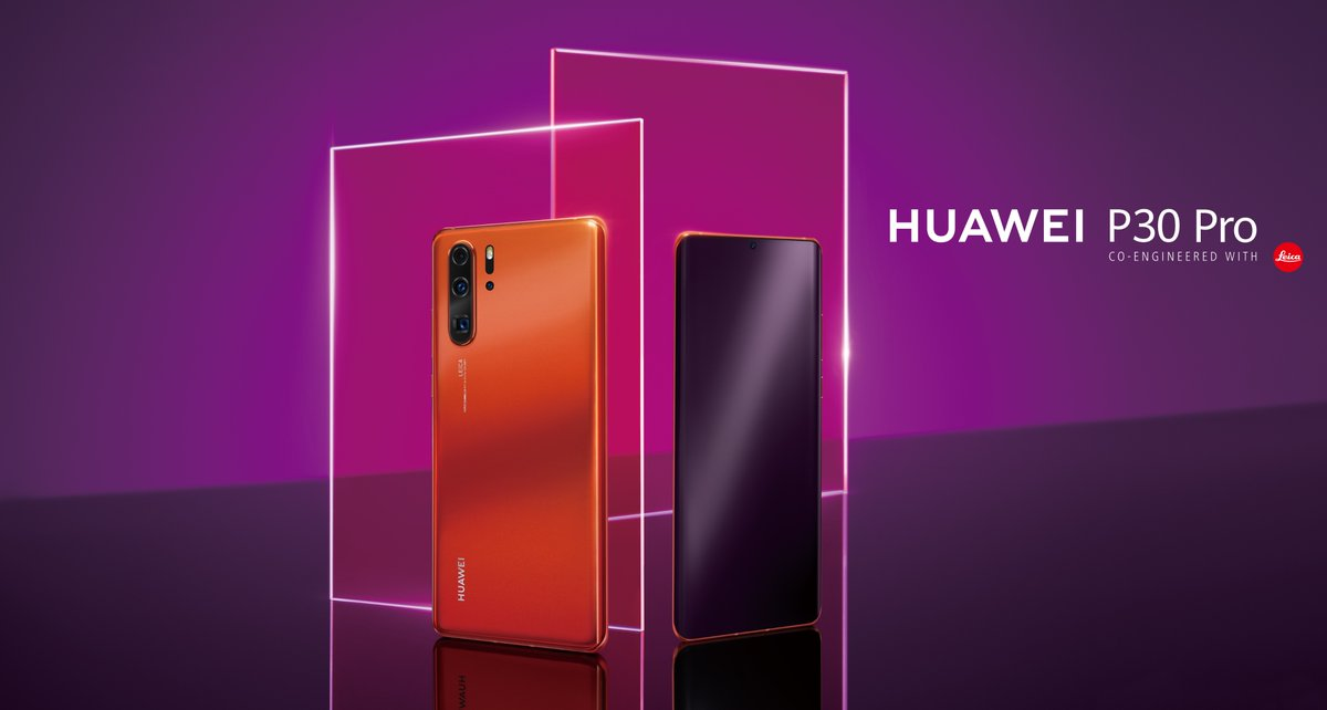 Huawei Unveils P30 Pro Amber Sunrise 512GB, Priced at RM4,399 2