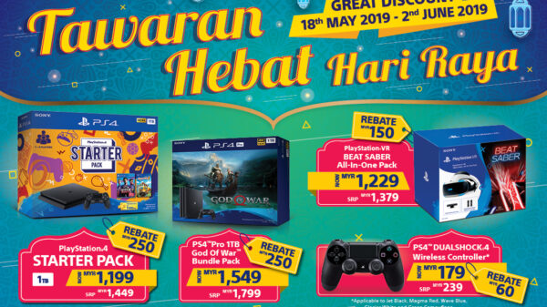 "Playstation Announces Hardware Sale with Festive ""Hari Raya Deals"" 30"