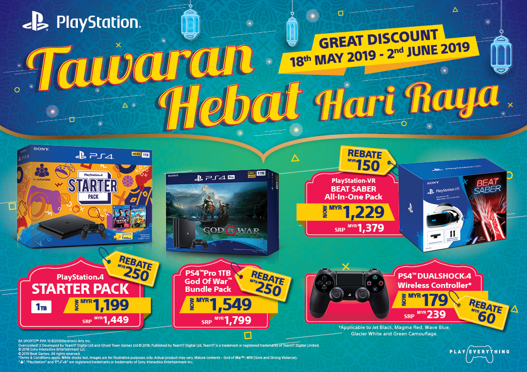 "Playstation Announces Hardware Sale with Festive ""Hari Raya Deals"" 3"
