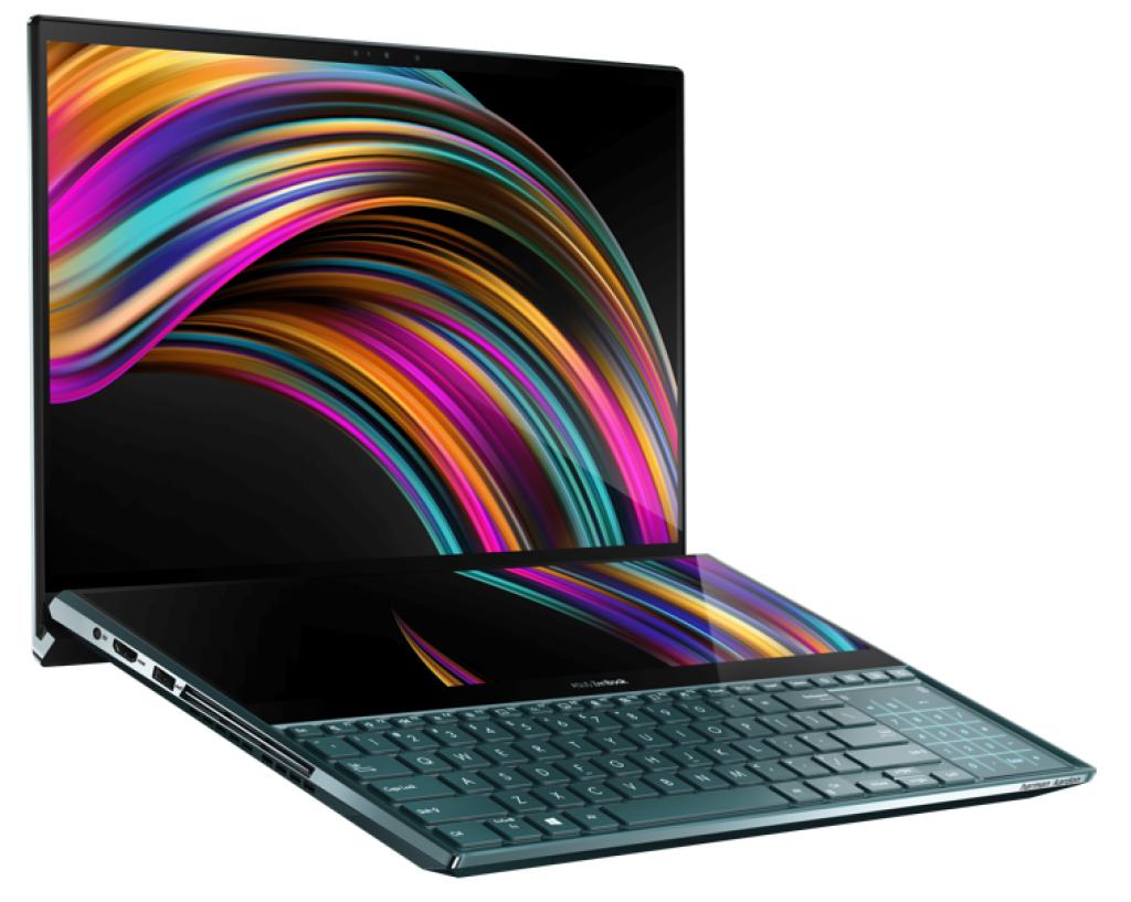 ASUS Unveils ZenBook Pro Duo Series - ScreenPad Plus Insanity 7