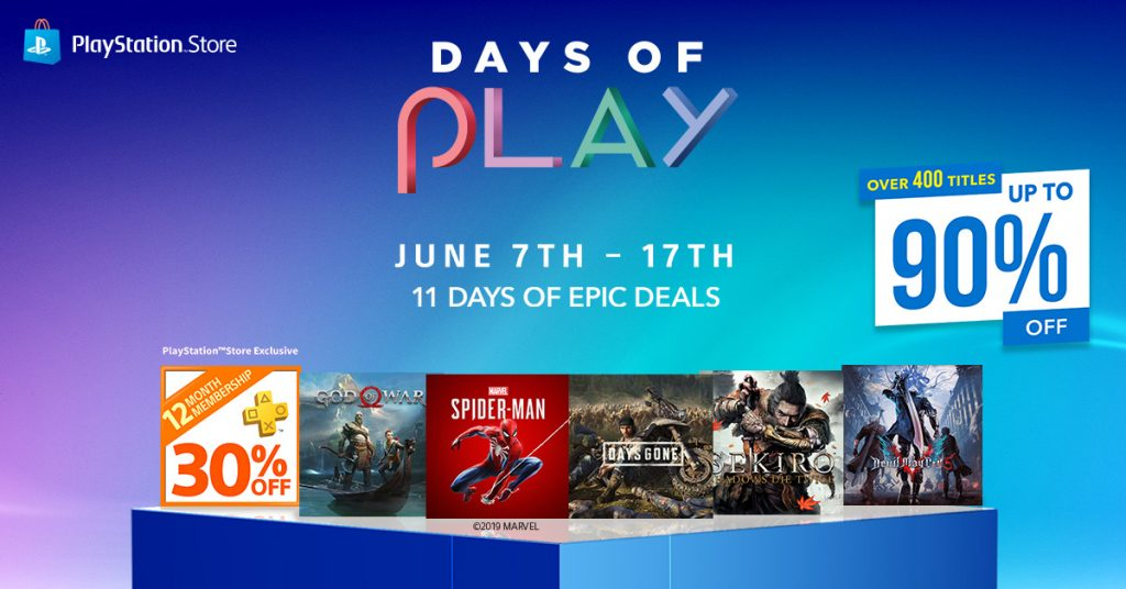 PlayStation™ Days of Play Offers Up to 90% Off on Selected Titles 18