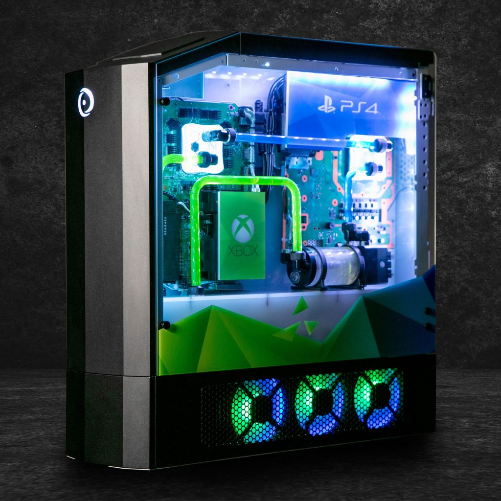 Big O by Origin PC Combines PS4 Pro, Xbox One X, and Nintendo Switch 5