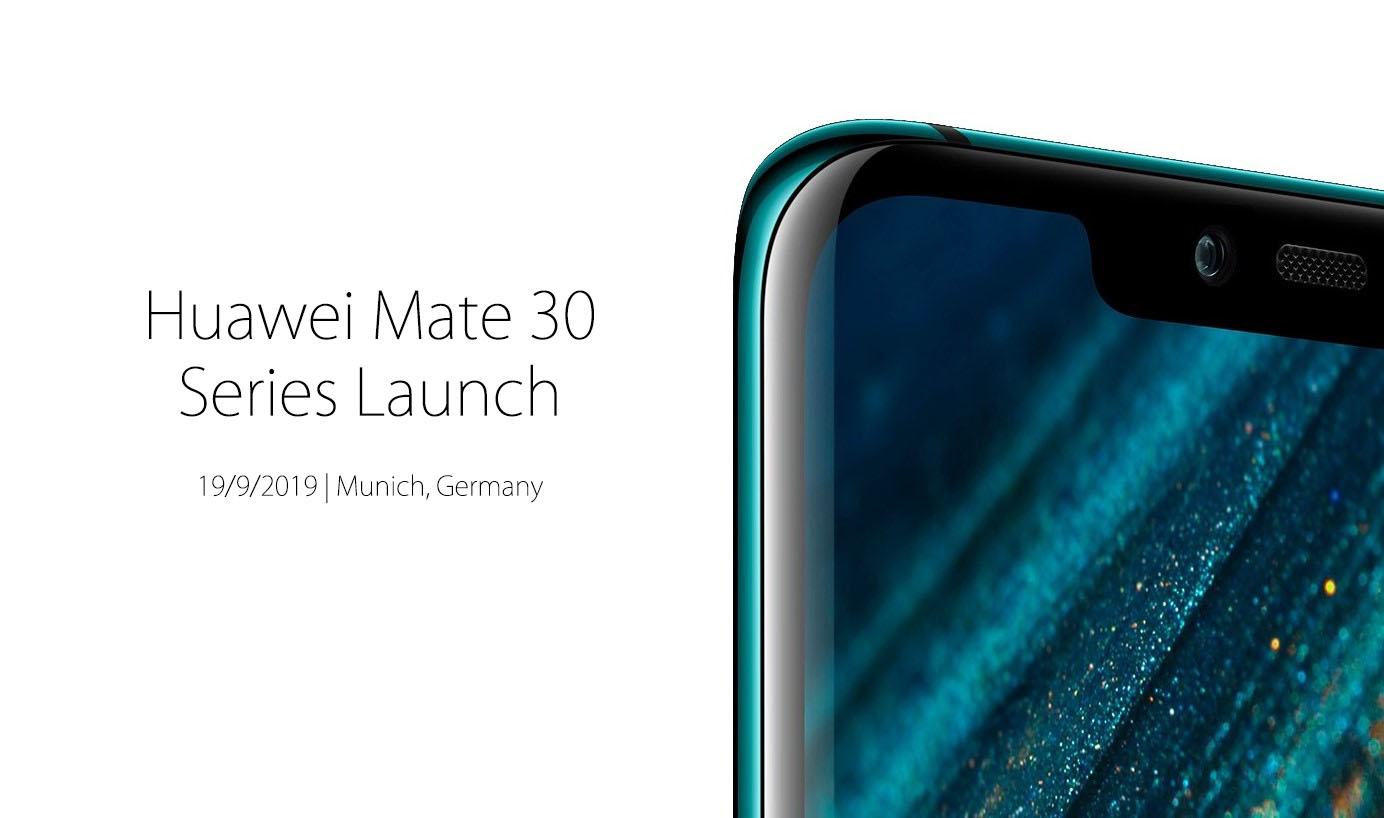Huawei Confirms Mate 30 Series Launch for 19 September 3