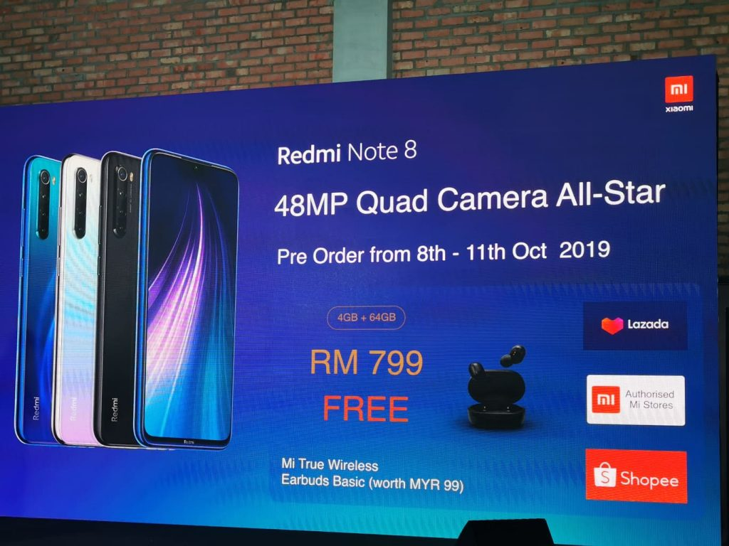 Xiaomi Unleashes Redmi Note 8 and Note 8 Pro from RM599 20