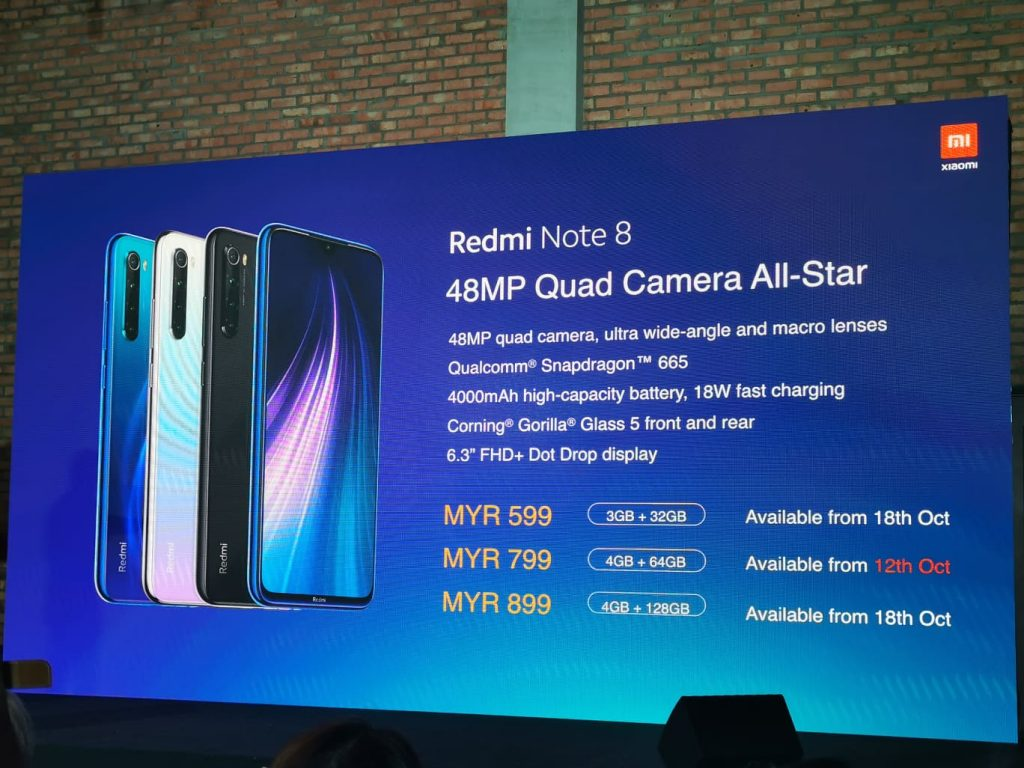 Xiaomi Unleashes Redmi Note 8 and Note 8 Pro from RM599 21