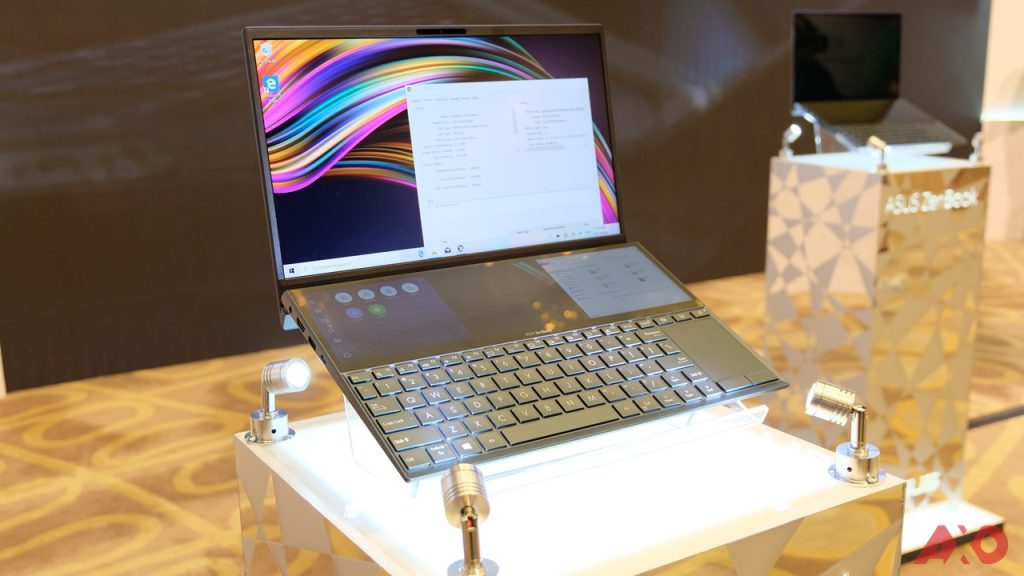 ASUS Unleashes Dual Display Laptops - ZenBook Pro Duo and ZenBook Duo 13