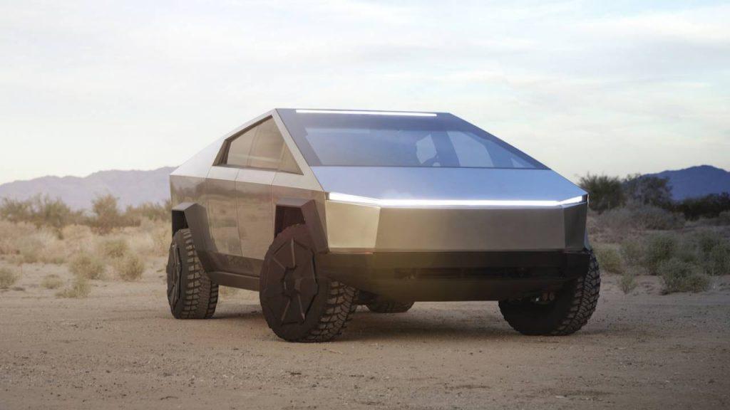 "Meet Tesla's very first all-electric pickup truck, the ""Cybertruck"" 18"