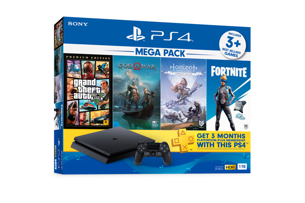 Playstation 4 to Get New Party Bundles and MEGA PACK 20