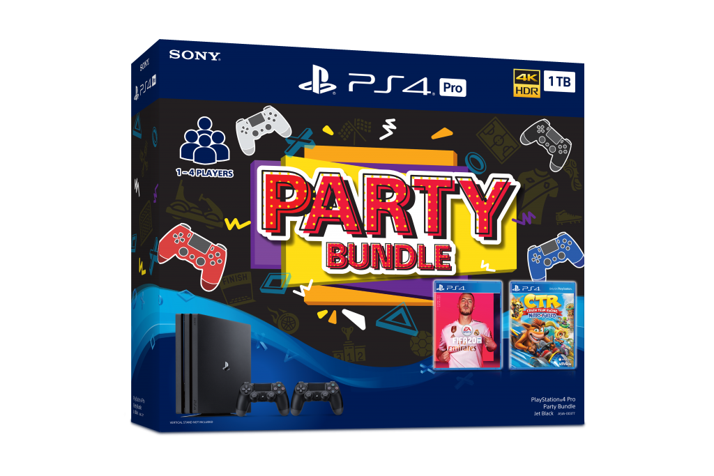 Playstation 4 to Get New Party Bundles and MEGA PACK 18