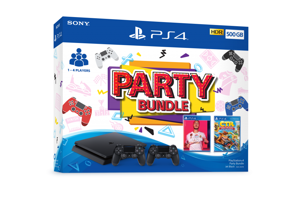 Playstation 4 to Get New Party Bundles and MEGA PACK 19