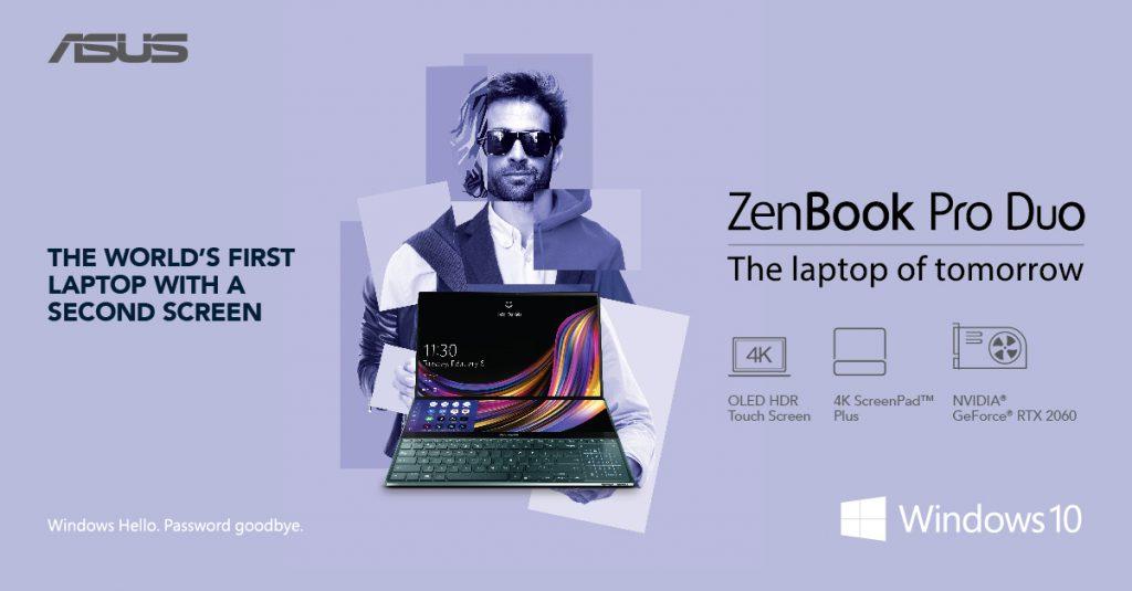 ASUS Unleashes Dual Display Laptops - ZenBook Pro Duo and ZenBook Duo 18