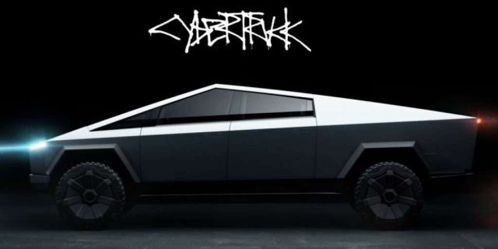 "Meet Tesla's very first all-electric pickup truck, the ""Cybertruck"" 19"