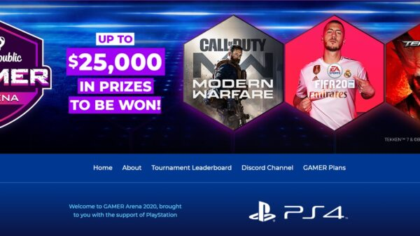 Gamer Arena Tournament by MyRepublic and Playstation Announced for January 2020 12