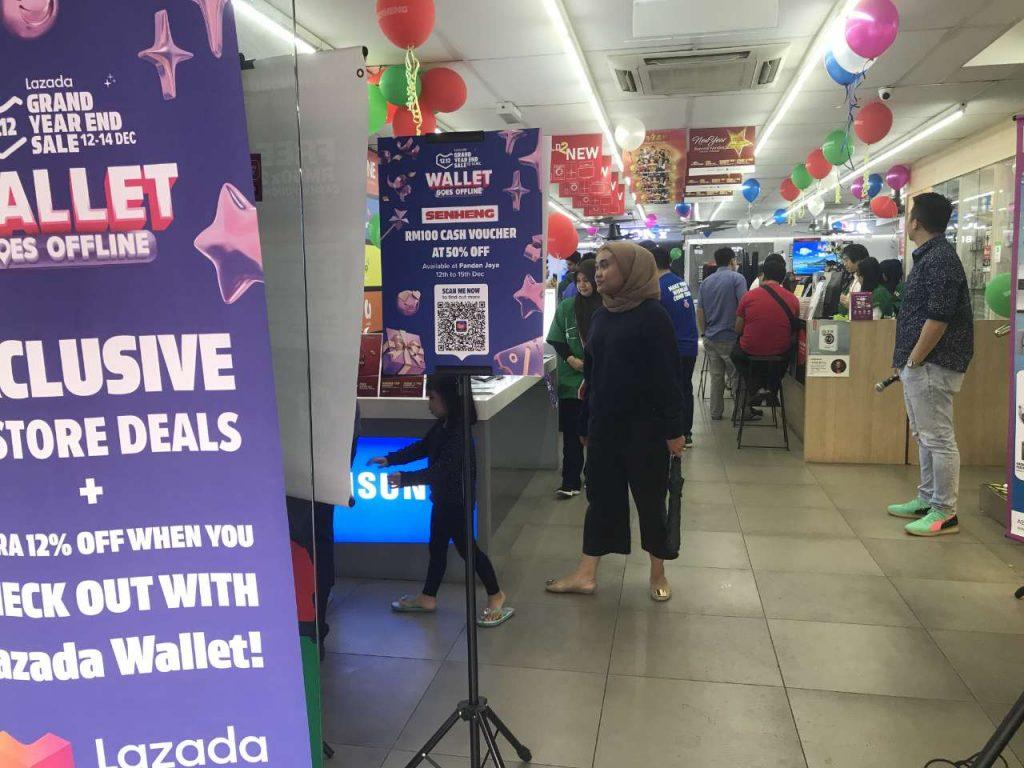 Lazada Wallet Bridges Offline and Online Retail on 12.12 Sales 26