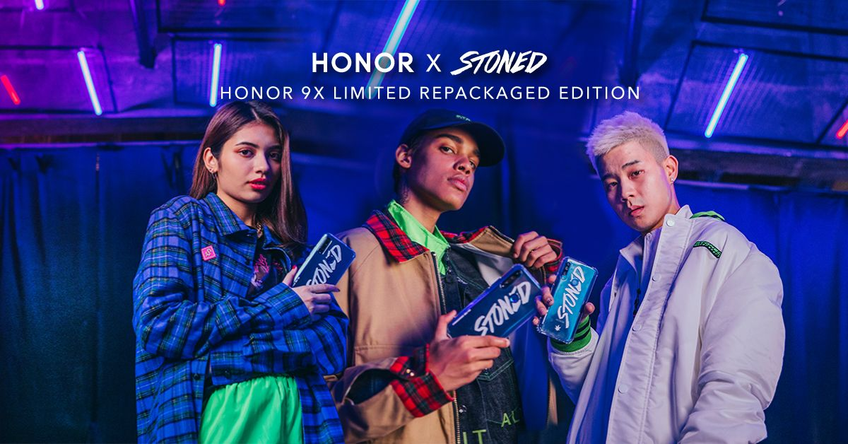 HONOR 9X Stoned And Co. Limited Edition Boxset Available From 20 December 15
