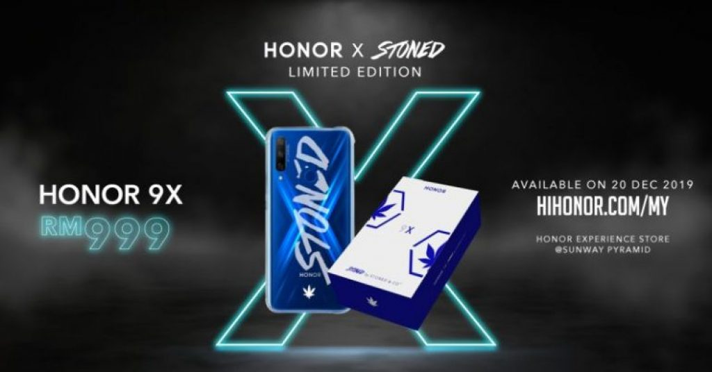 HONOR 9X Stoned And Co. Limited Edition Boxset