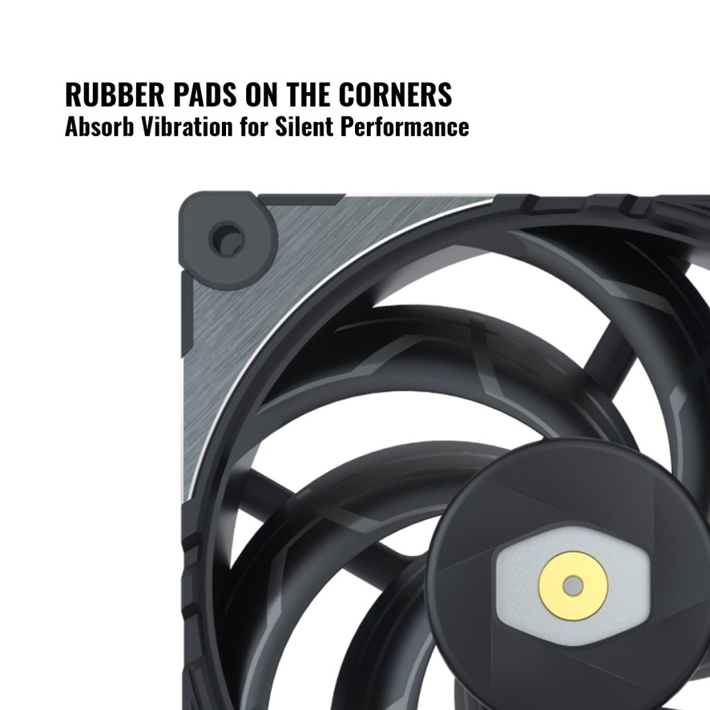 Cooler Master Unveils New Performance Fan, MasterFan SF120M 19