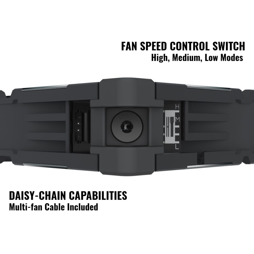 Cooler Master Unveils New Performance Fan, MasterFan SF120M 20