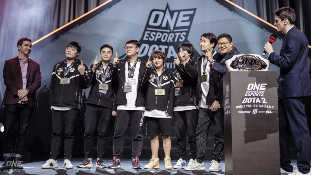 Vici Gaming Crowned As ONE Esports Dota 2 Singapore World Pro Invitational Champions 18