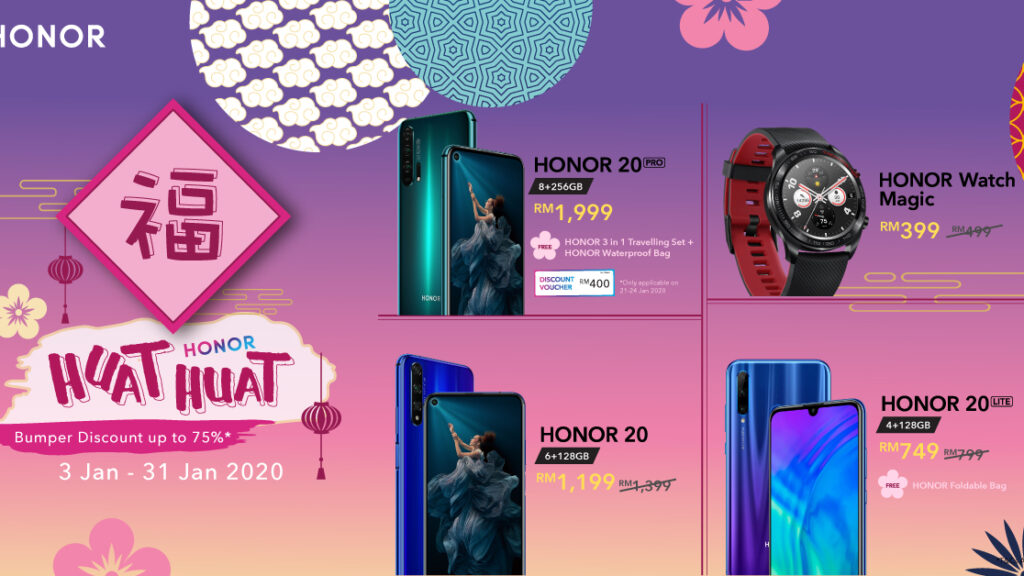 HONOR HUAT HUAT SALE