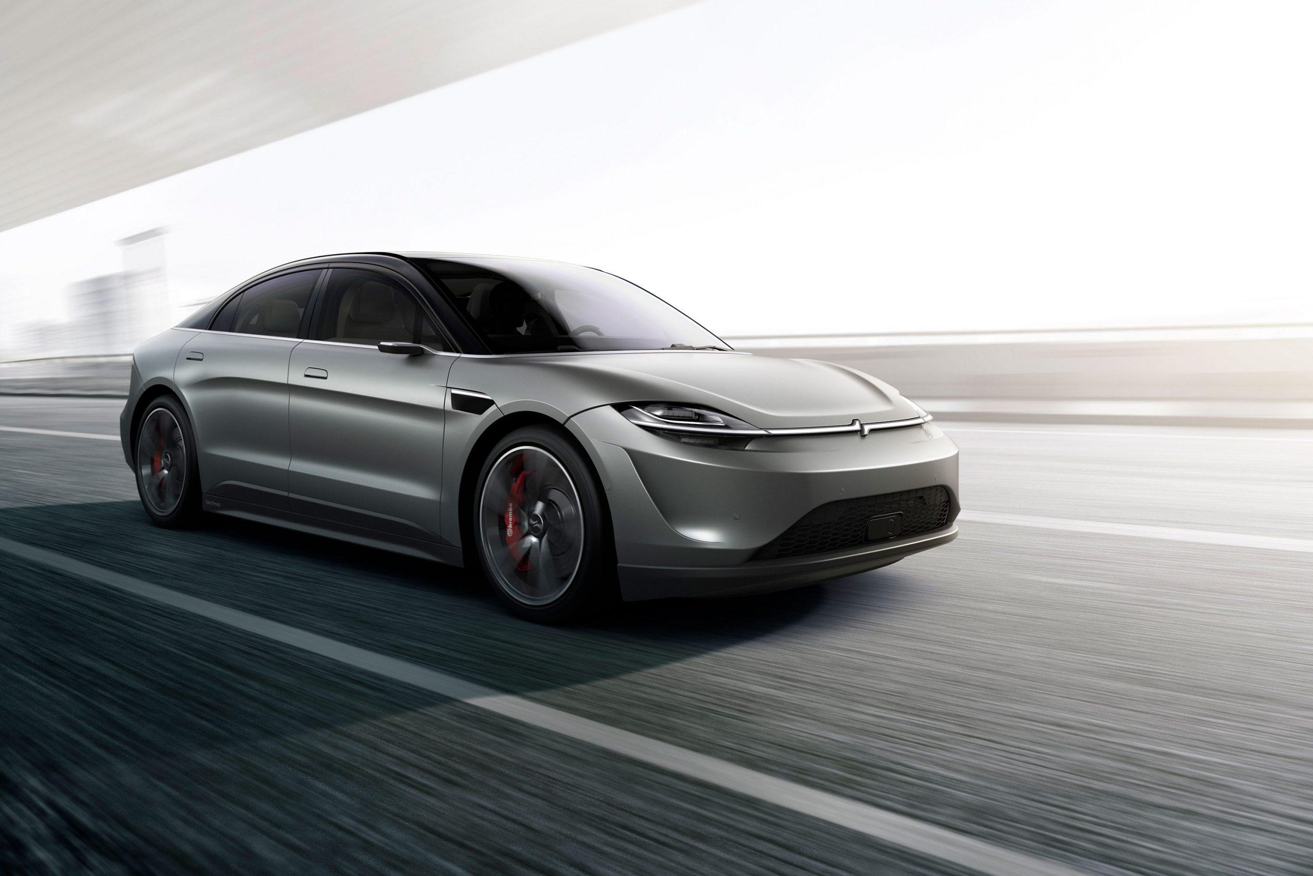 CES 2020: Sony Vision-S Concept Car Unveiled 5