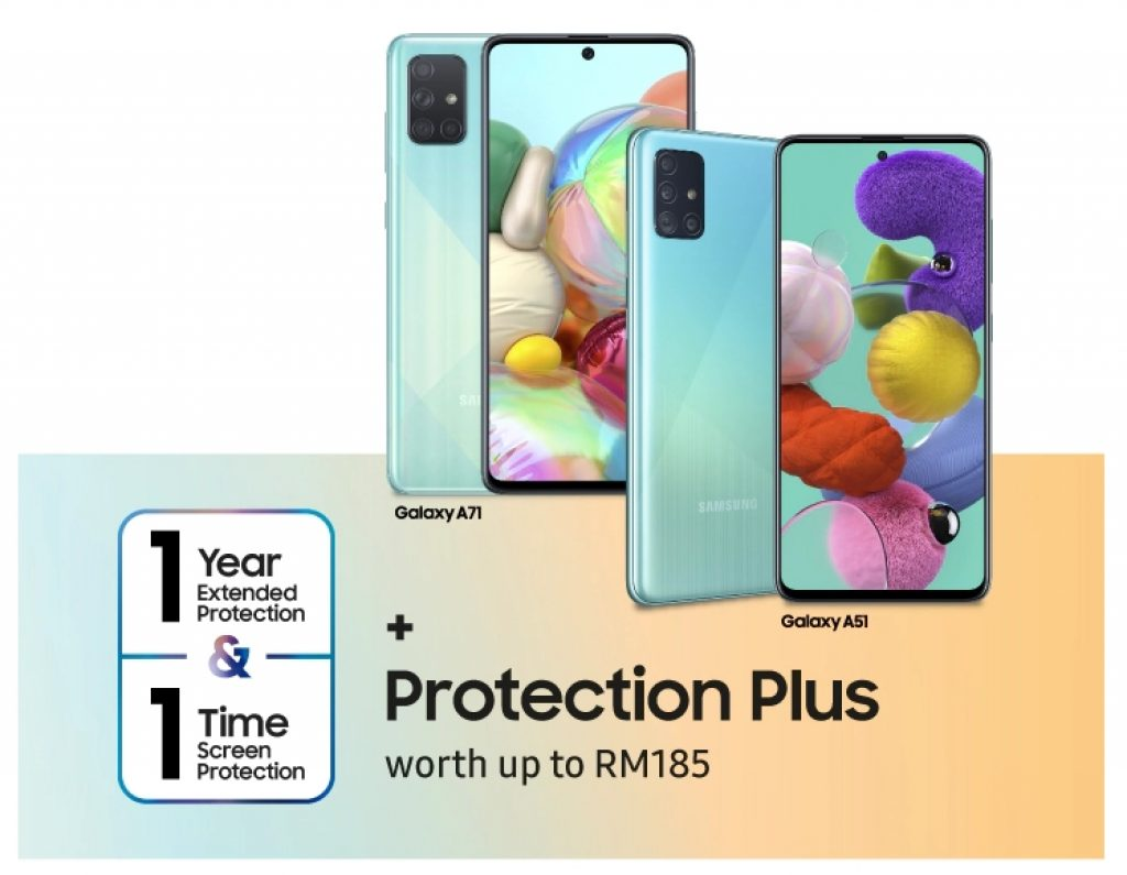 Samsung Galaxy A51 and Galaxy A71 Pre-OrderStarts From RM1,299 5