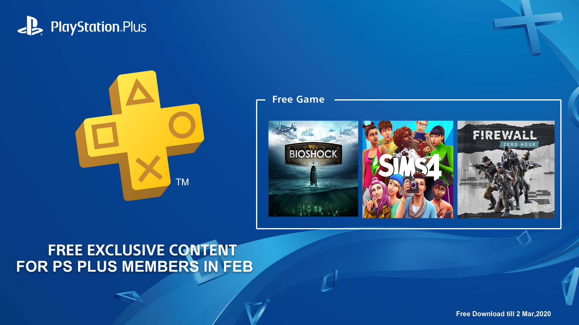 PS Plus February 2020 free game