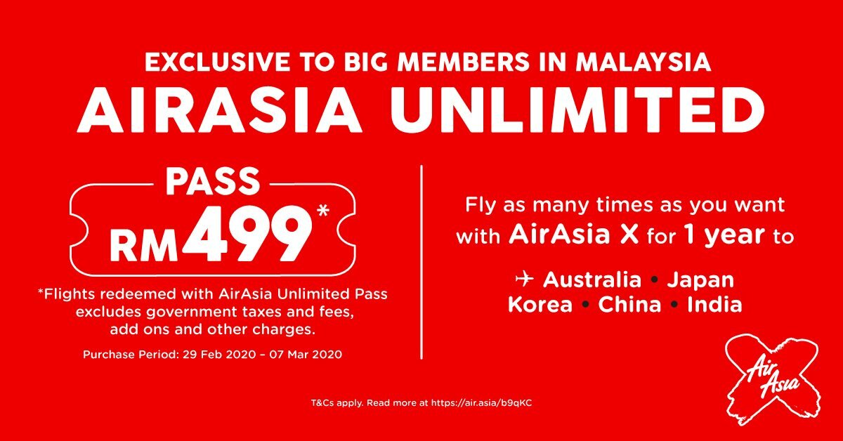 Airasia Unlimited Pass