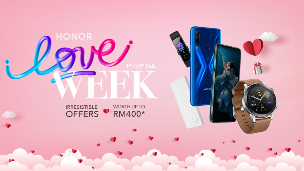 HONOR Valentine's Day Deals