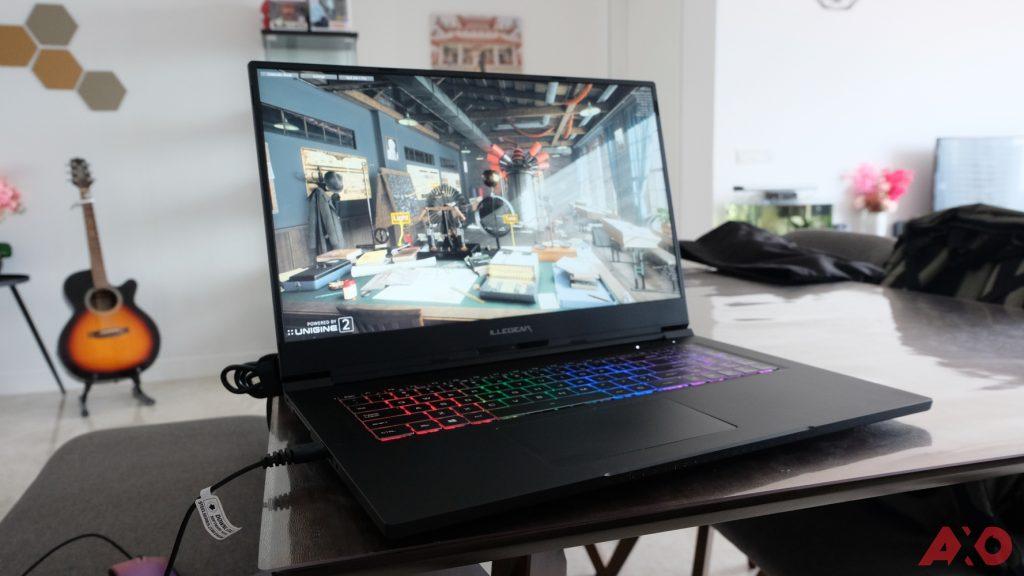 Illegear Selenite Pro Gaming Laptop Review: Proper Heavyweight Gaming 24