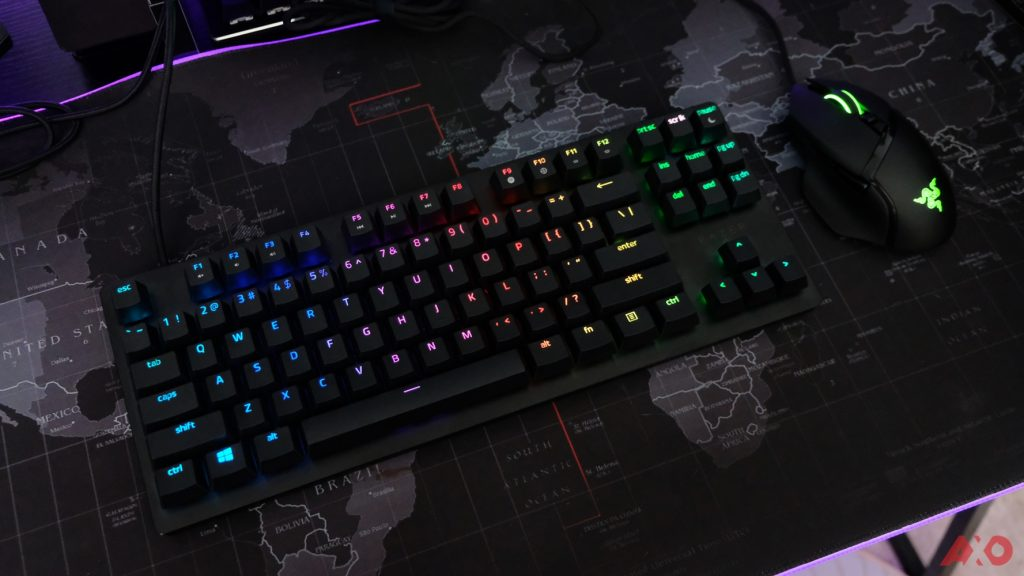 Razer Huntsman TE Review: Of Light and Loudness 42