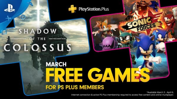 Playstation Plus Free Games - March