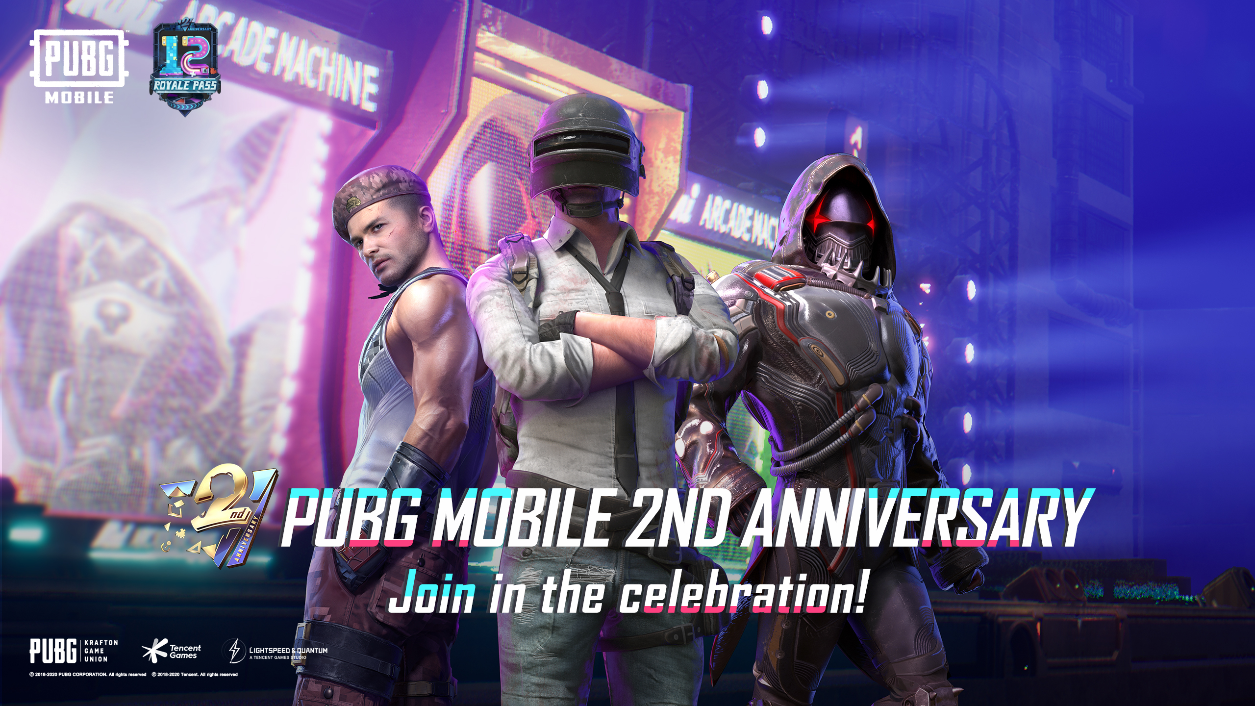 PUBG MOBILE 2ND ANNIVERSARY
