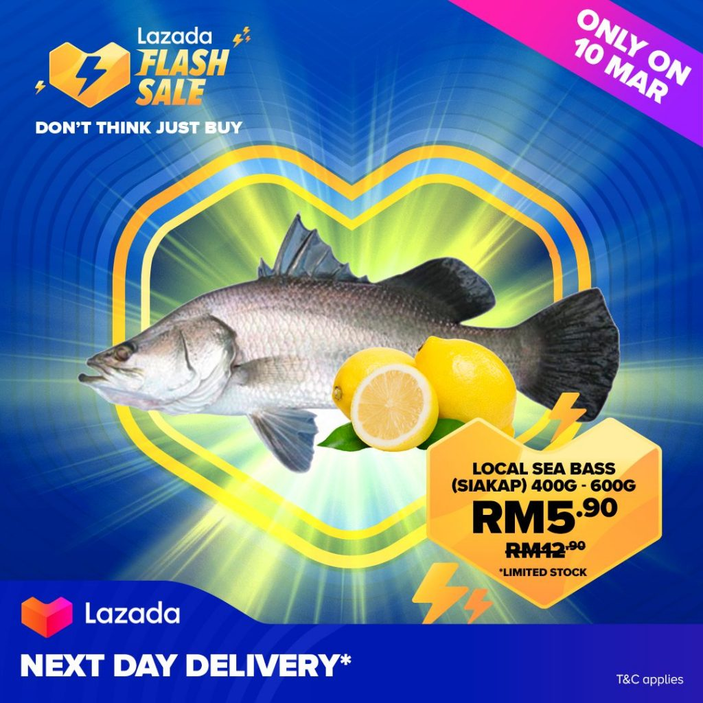 Lazada Revamps Flash Sale to 10AM, Now with Fresh Produce 8