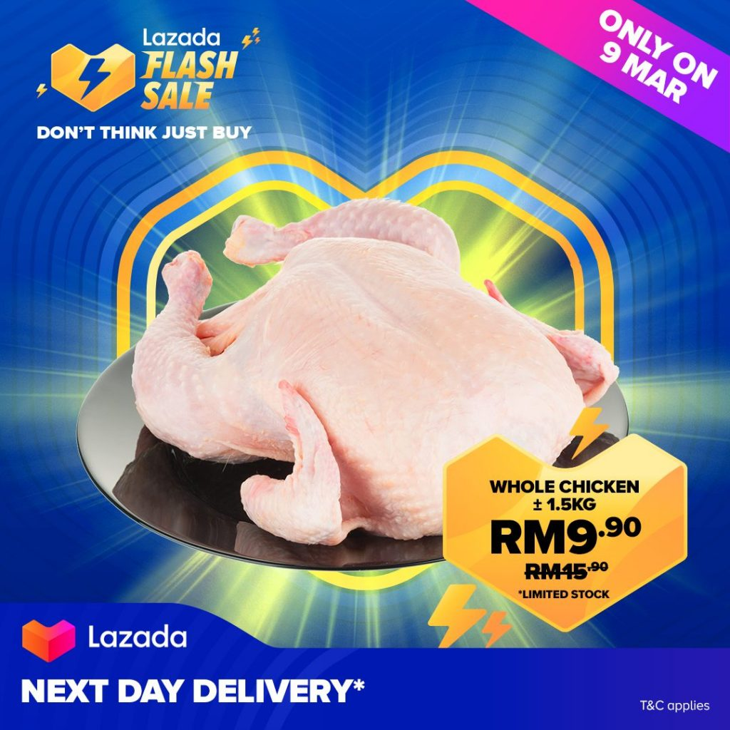 Lazada Revamps Flash Sale to 10AM, Now with Fresh Produce 7