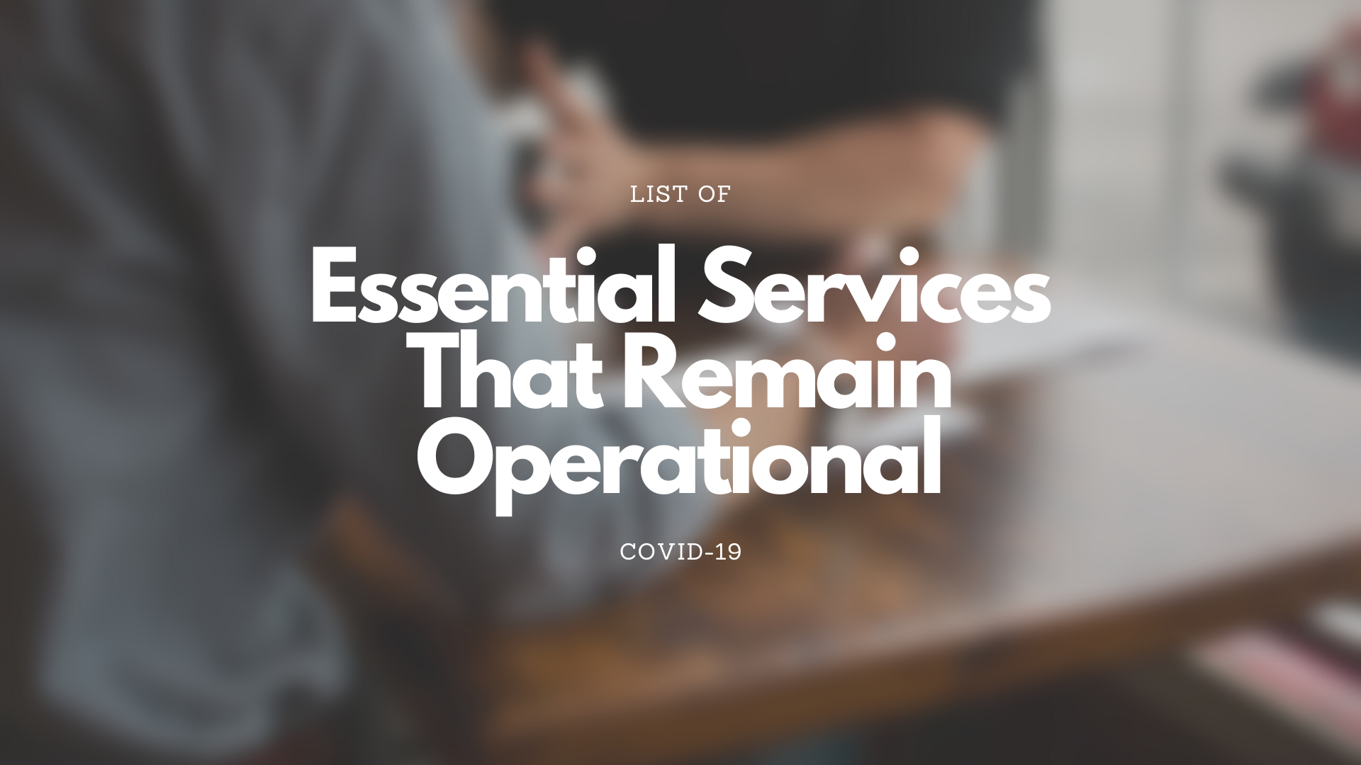 essential services malaysia