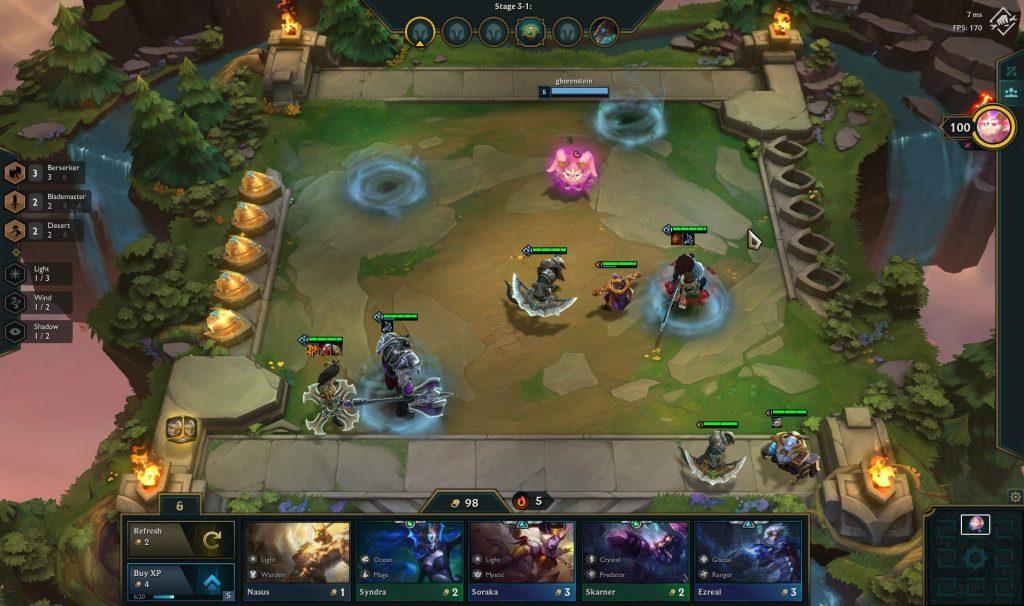 Teamfight Tactics LoL