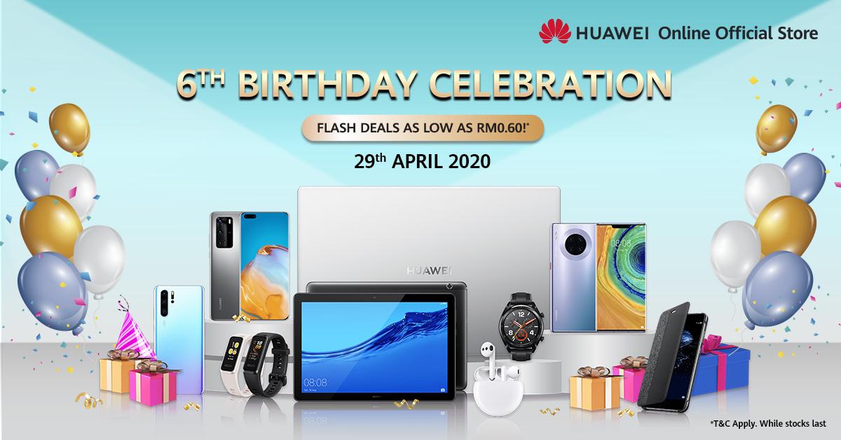 Huawei's 6th Birthday Celebration
