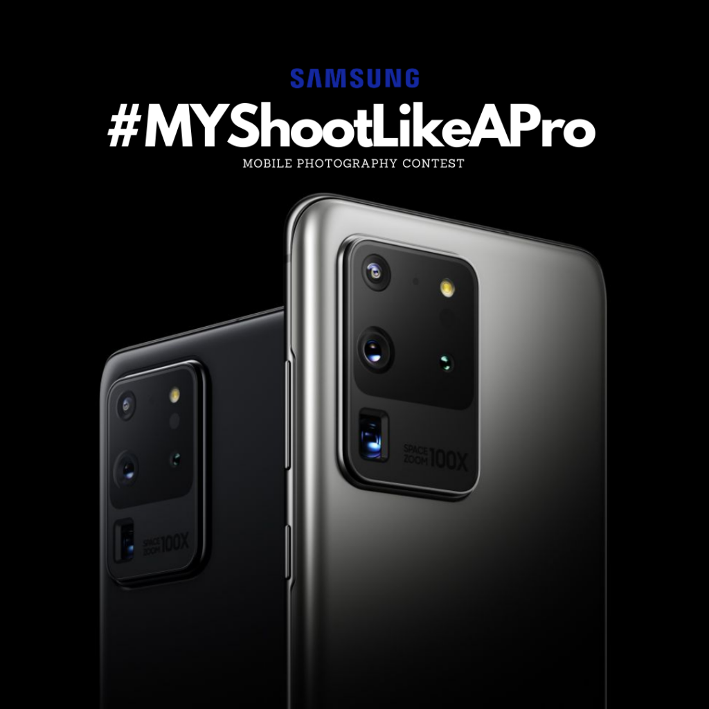 Samsung Announces #MYShootLikeAPro Mobile Photography Contest; Win A Galaxy S20 Ultra 5G 6