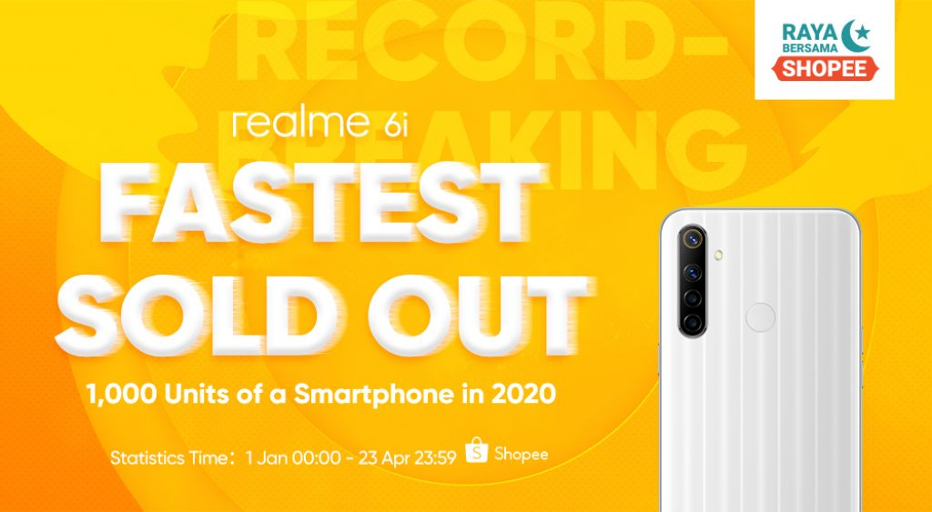 realme Achieves Four Recognitions During realme 6i First Sale 9