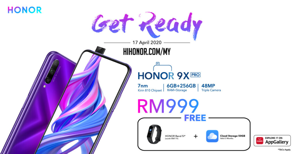 HONOR 9X Pro Availability Online