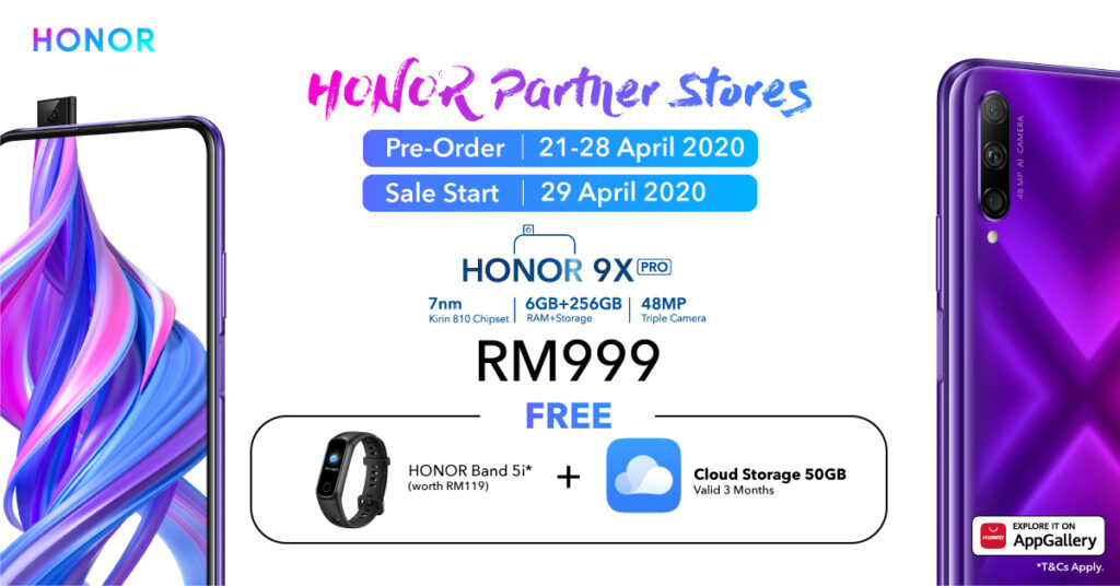 HONOR MagicBook and Honor 9X Pro Expands Availability Online 6