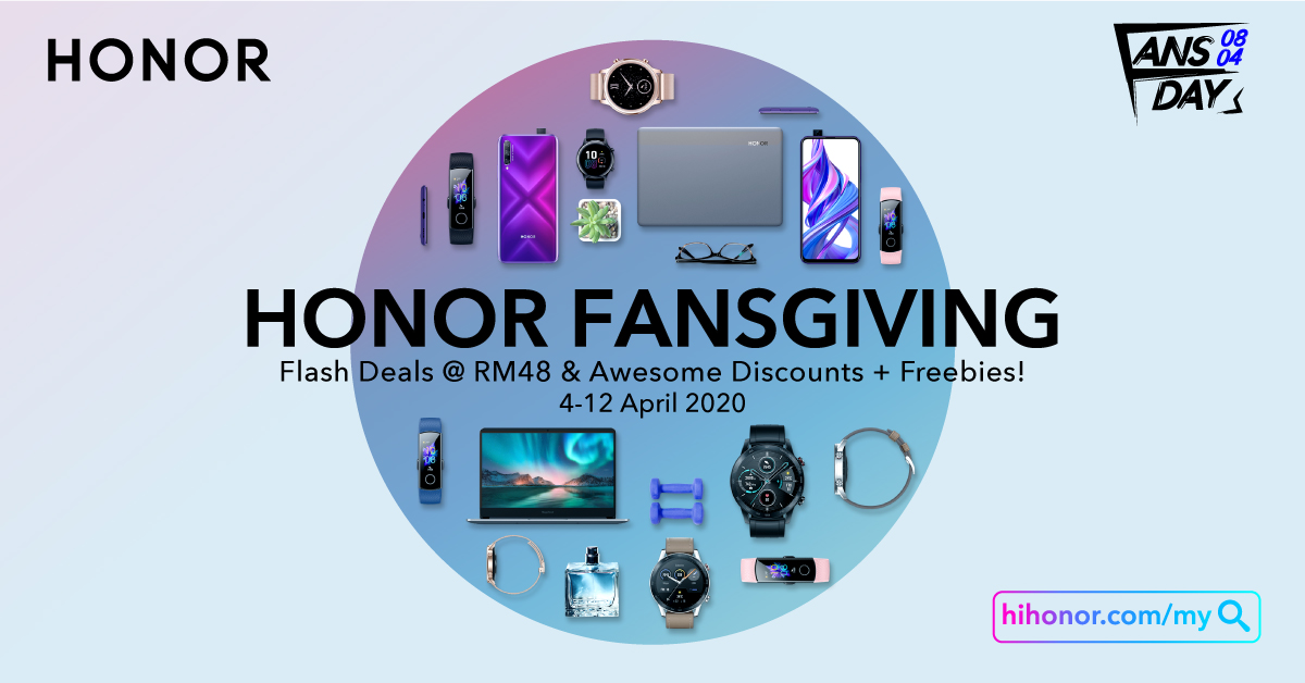 Honor Fansgiving Day 2020