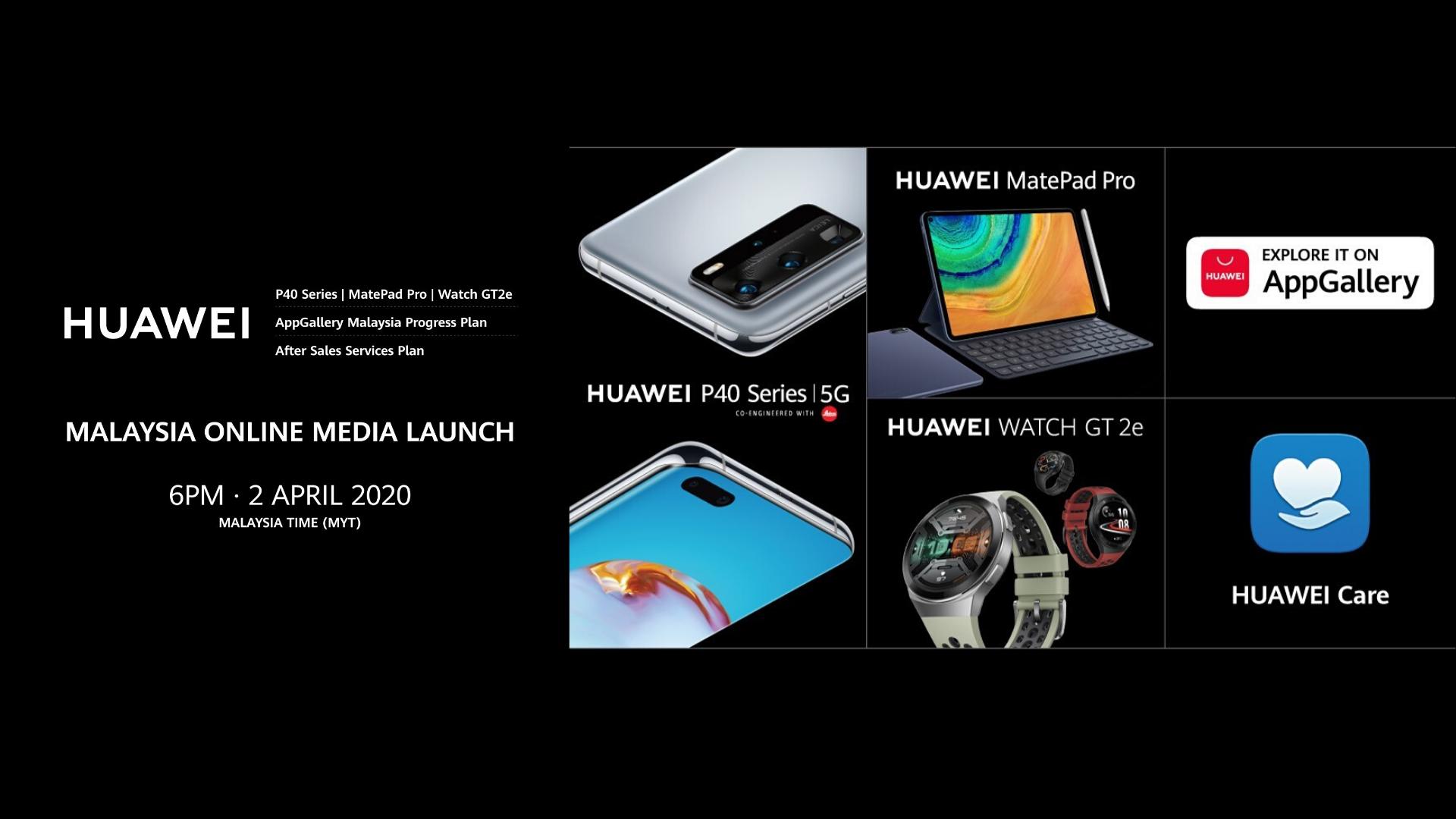 Huawei online media launch