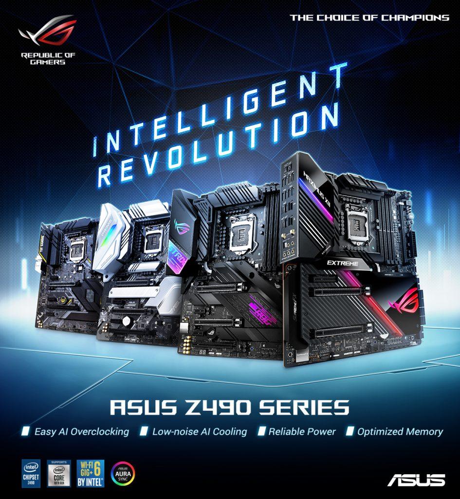 ASUS Z490 Motherboard