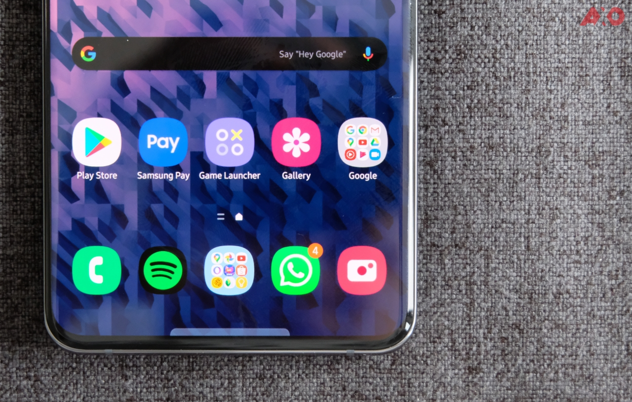 Samsung Galaxy S20 Samsung One UI 3.0